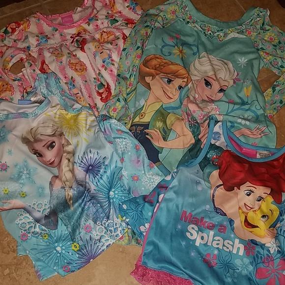 f61596709970a Disney Other - Bundle for @iglsara Disney Girl's pajamas